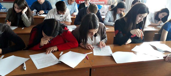 Cтуденты Международного колледжа «Полиглот» приняли участие во Всероссийской проверочной работе по дисциплине «История»