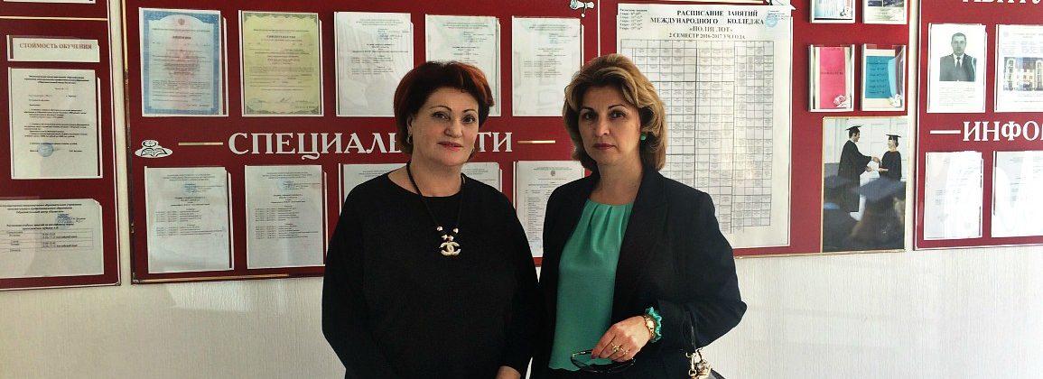 Министр образования и науки Карачаево-Черкесской республики посетила Международный колледж «Полиглот»