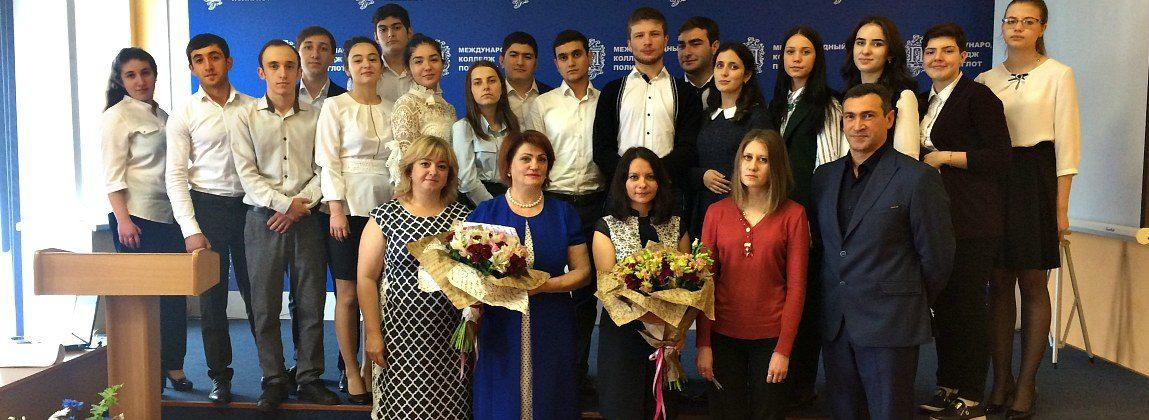 В Международном колледже «Полиглот» состоялась защита выпускных квалификационных работ»