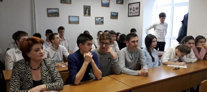 Открытыйурок мужества и патриотизмапрошел в Международном колледже «Полиглот»