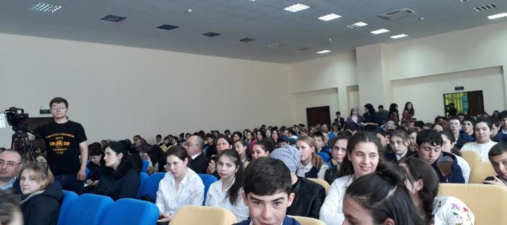 В Международном колледже «Полиглот» прошли профориентационные мероприятия